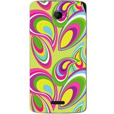Snooky 40435 Digital Print Mobile Skin Sticker For Micromax Canvas Elanza 2 A121 - multicolour