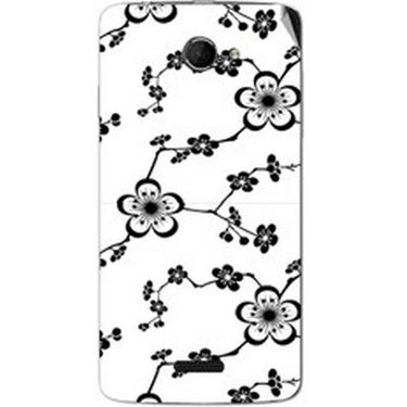 Snooky 40440 Digital Print Mobile Skin Sticker For Micromax Canvas Elanza 2 A121 - White
