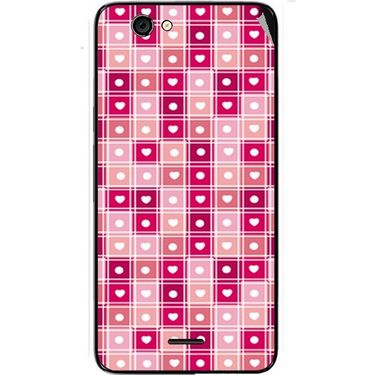 Snooky 40453 Digital Print Mobile Skin Sticker For Micromax Canvas Knight Cameo A290 - Pink