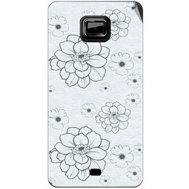 Snooky 40525 Digital Print Mobile Skin Sticker For Micromax Ninja A91 - Grey