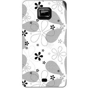 Snooky 40526 Digital Print Mobile Skin Sticker For Micromax Ninja A91 - White
