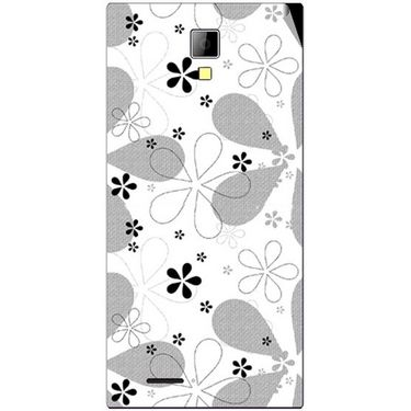 Snooky 40540 Digital Print Mobile Skin Sticker For Micromax Canvas Xpress A99 - White