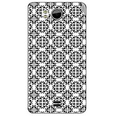 Snooky 40598 Digital Print Mobile Skin Sticker For Micromax Canvas Doodle A111 - White