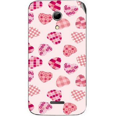 Snooky 40620 Digital Print Mobile Skin Sticker For Micromax Canvas 2.2 A114 - White