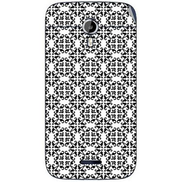 Snooky 40626 Digital Print Mobile Skin Sticker For Micromax Canvas Magnus A117 - White