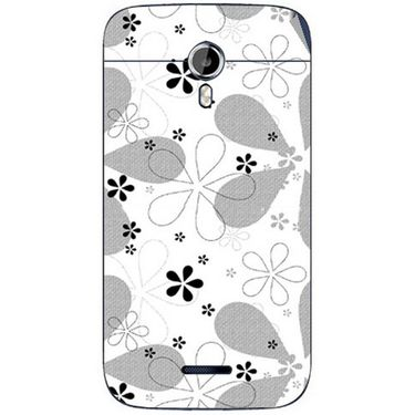Snooky 40638 Digital Print Mobile Skin Sticker For Micromax Canvas Magnus A117 - White