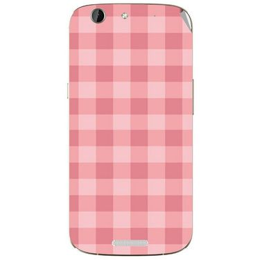 Snooky 40716 Digital Print Mobile Skin Sticker For Micromax Canvas Gold A300 - Pink
