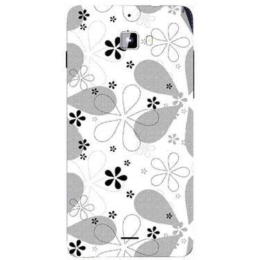 Snooky 40736 Digital Print Mobile Skin Sticker For Micromax Canvas Nitro A310 - White