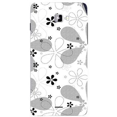Snooky 40750 Digital Print Mobile Skin Sticker For Micromax Canvas Nitro A311 - White
