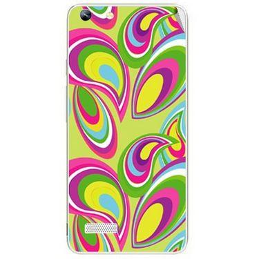 Snooky 40757 Digital Print Mobile Skin Sticker For Micromax Canvas Hue AQ5000 - multicolour