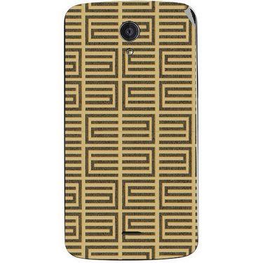 Snooky 40938 Digital Print Mobile Skin Sticker For XOLO Omega 5.0 - Brown