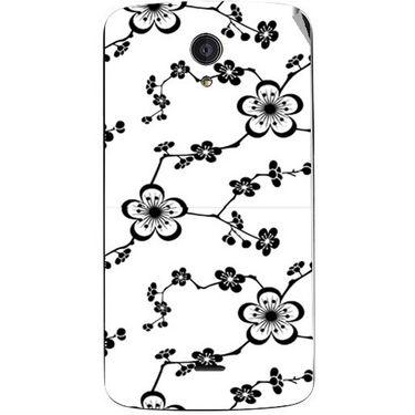 Snooky 40958 Digital Print Mobile Skin Sticker For XOLO Omega 5.5 - White