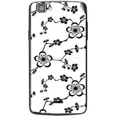 Snooky 40972 Digital Print Mobile Skin Sticker For XOLO One - White