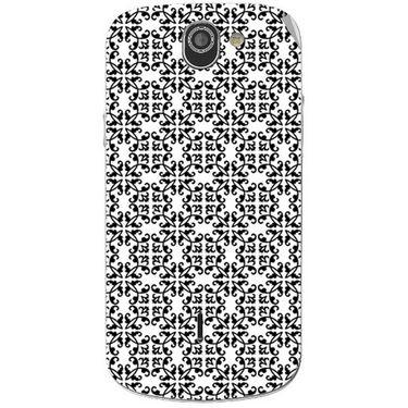 Snooky 40976 Digital Print Mobile Skin Sticker For XOLO Q600 - White