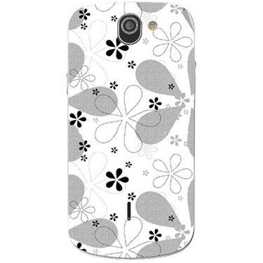 Snooky 40988 Digital Print Mobile Skin Sticker For XOLO Q600 - White