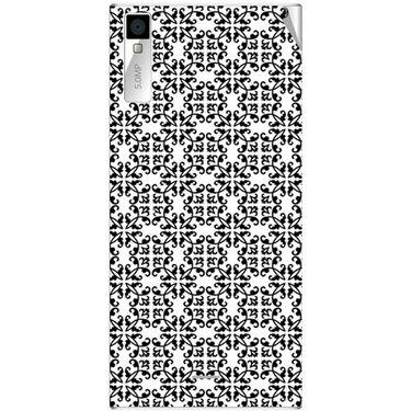 Snooky 40990 Digital Print Mobile Skin Sticker For XOLO Q600S - White