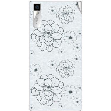 Snooky 41001 Digital Print Mobile Skin Sticker For XOLO Q600S - Grey