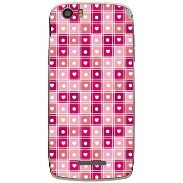 Snooky 41041 Digital Print Mobile Skin Sticker For XOLO Q700S - Pink