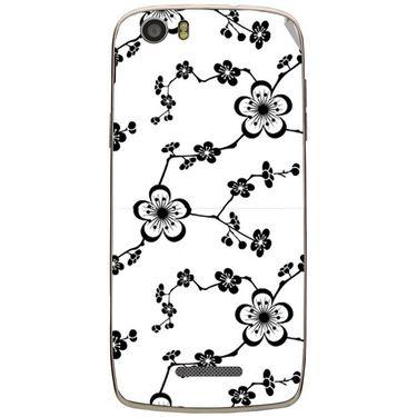 Snooky 41042 Digital Print Mobile Skin Sticker For XOLO Q700S - White