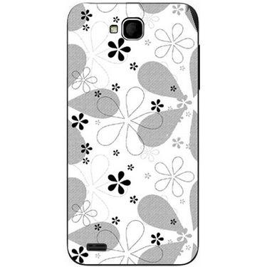Snooky 41058 Digital Print Mobile Skin Sticker For XOLO Q800 - White