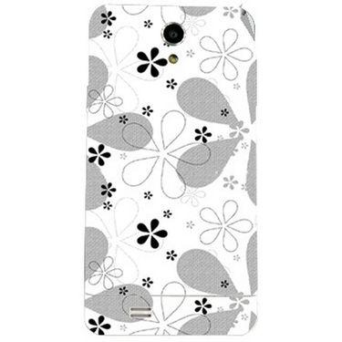 Snooky 41072 Digital Print Mobile Skin Sticker For XOLO Q900 - White