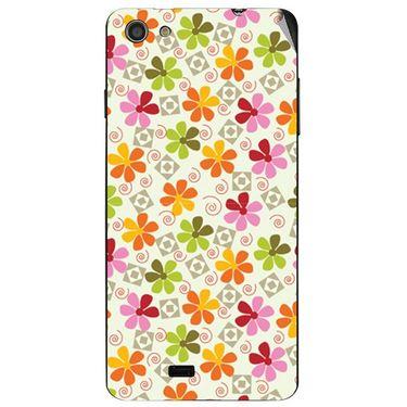 Snooky 41076 Digital Print Mobile Skin Sticker For XOLO Q900S - White