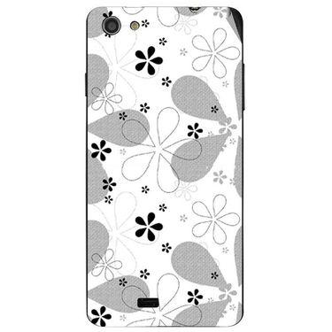 Snooky 41086 Digital Print Mobile Skin Sticker For XOLO Q900S - White