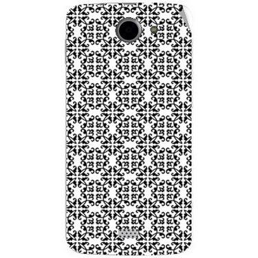 Snooky 41088 Digital Print Mobile Skin Sticker For XOLO Q1000 - White