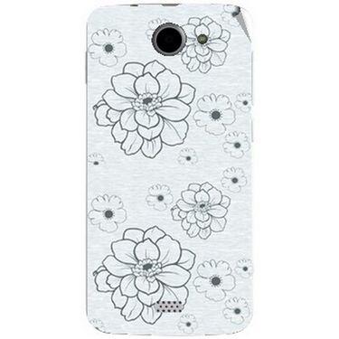 Snooky 41099 Digital Print Mobile Skin Sticker For XOLO Q1000 - Grey
