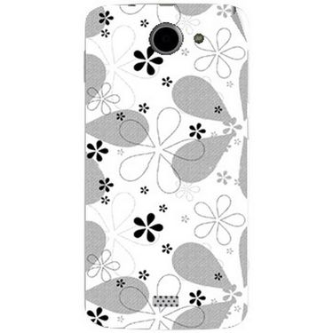 Snooky 41100 Digital Print Mobile Skin Sticker For XOLO Q1000 - White