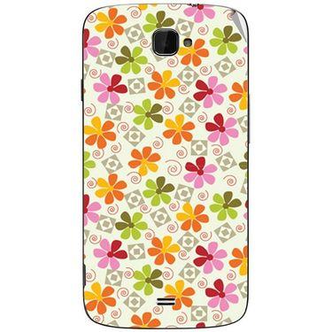 Snooky 41104 Digital Print Mobile Skin Sticker For XOLO Q1000 Opus - White