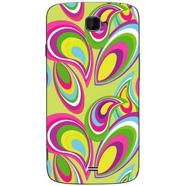 Snooky 41107 Digital Print Mobile Skin Sticker For XOLO Q1000 Opus - multicolour