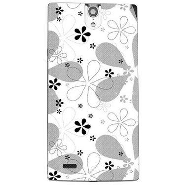 Snooky 41128 Digital Print Mobile Skin Sticker For XOLO Q1010i - White