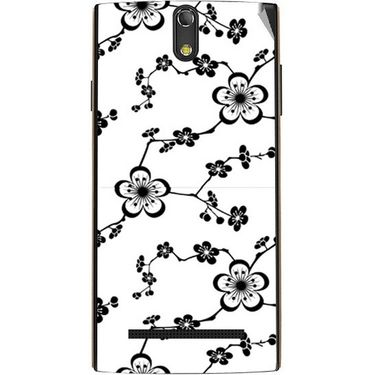 Snooky 41140 Digital Print Mobile Skin Sticker For XOLO Q1020 - White