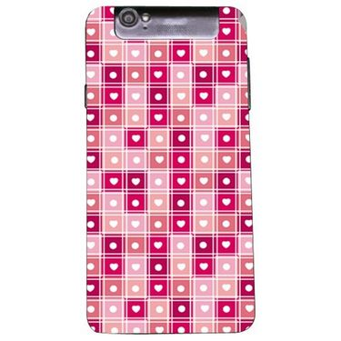 Snooky 41181 Digital Print Mobile Skin Sticker For XOLO Q3000 - Pink