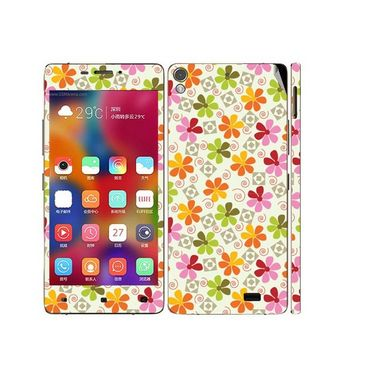 Snooky 41230 Digital Print Mobile Skin Sticker For Gionee Elife 5.1 - White