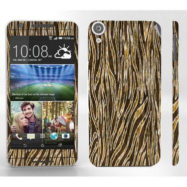 Snooky 41399 Digital Print Mobile Skin Sticker For HTC Desire 820 - Brown