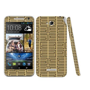 Snooky 41442 Digital Print Mobile Skin Sticker For HTC Desire 616 - Brown