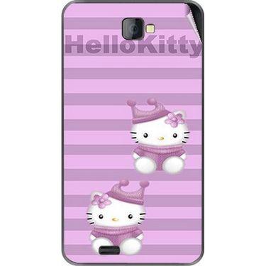 Snooky 41673 Digital Print Mobile Skin Sticker For Lava Iris 502 - Pink