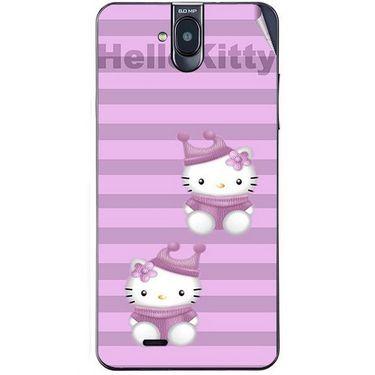 Snooky 41757 Digital Print Mobile Skin Sticker For Lava Iris 550Q - Pink