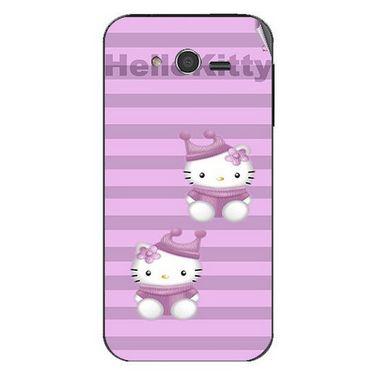 Snooky 42370 Digital Print Mobile Skin Sticker For Intex Cloud Y5 - Pink