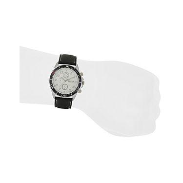 Exotica Fashions Analog Round Dial Watches_E10ls18 - White