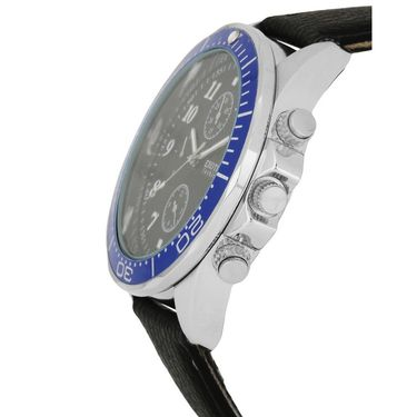 Exotica Fashions Analog Round Dial Watches_E10ls20 - Black