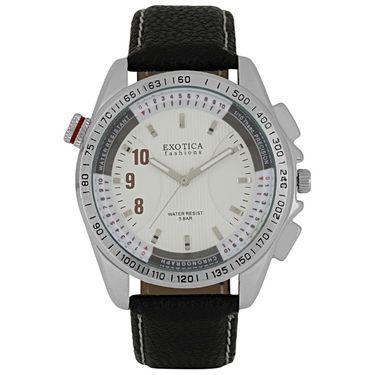 Exotica Fashions Analog Round Dial Watches_E11ls28 - White