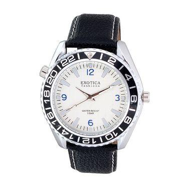 Exotica Fashions Analog Round Dial Watches_E14ls32 - White