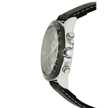 Exotica Fashions Analog Round Dial Watches_E02ls35 - Black