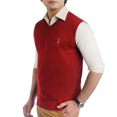 Pack of 2 Sleeveless Sweaters For Men_Srihs11