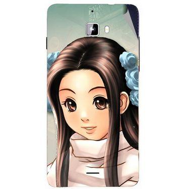 Snooky 46871 Digital Print Mobile Skin Sticker For Micromax Canvas Nitro A310 - Multicolour