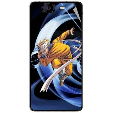 Snooky 46943 Digital Print Mobile Skin Sticker For Micromax Canvas Knight A350 - Blue