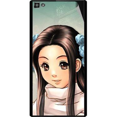 Snooky 47094 Digital Print Mobile Skin Sticker For Xolo Hive 8X-1000 - Multicolour